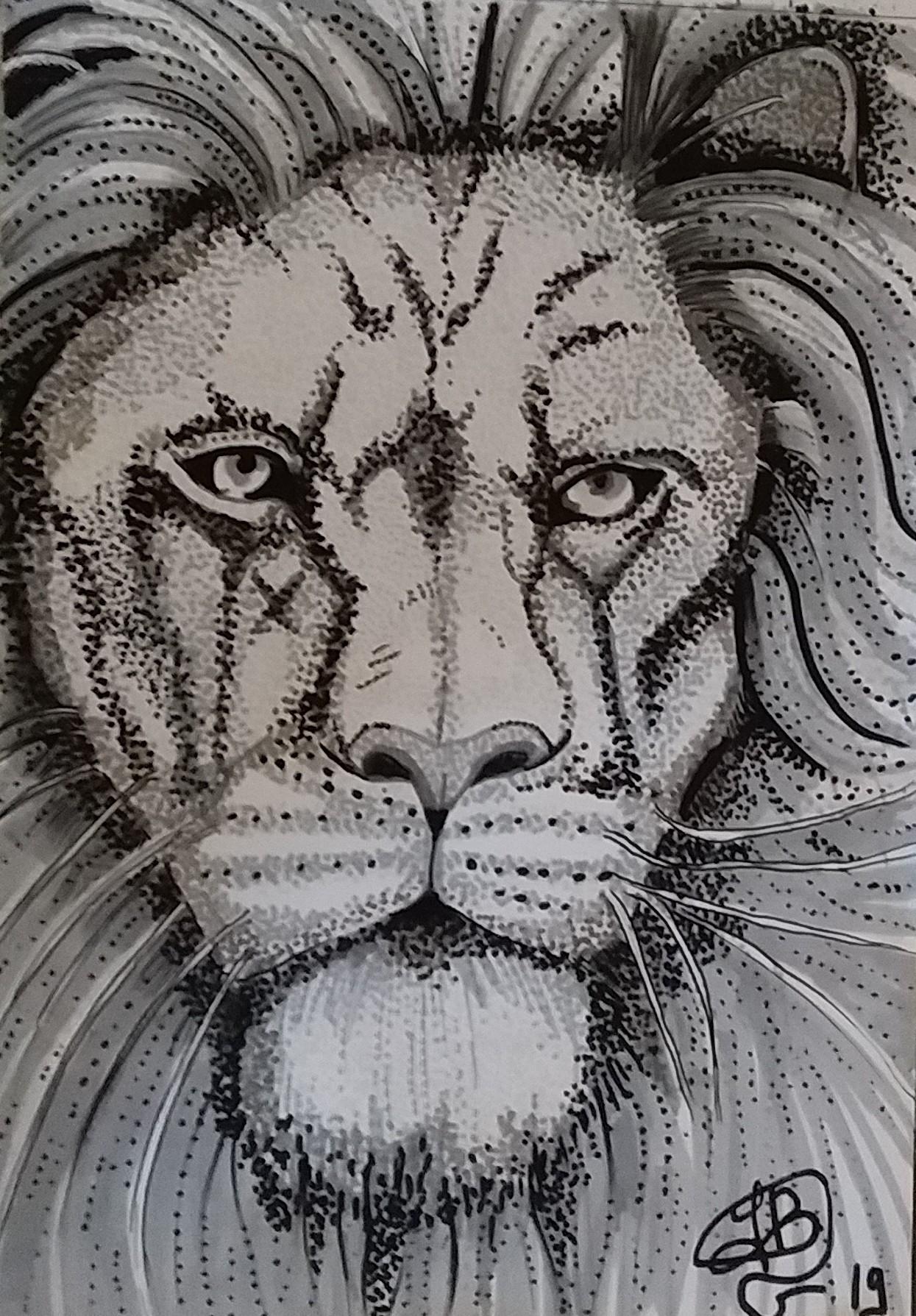 Sarah Bouzaglou Boissin - king lion