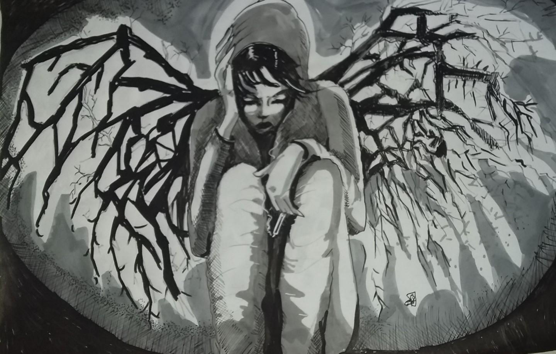 Sarah Bouzaglou Boissin - ange déchu
