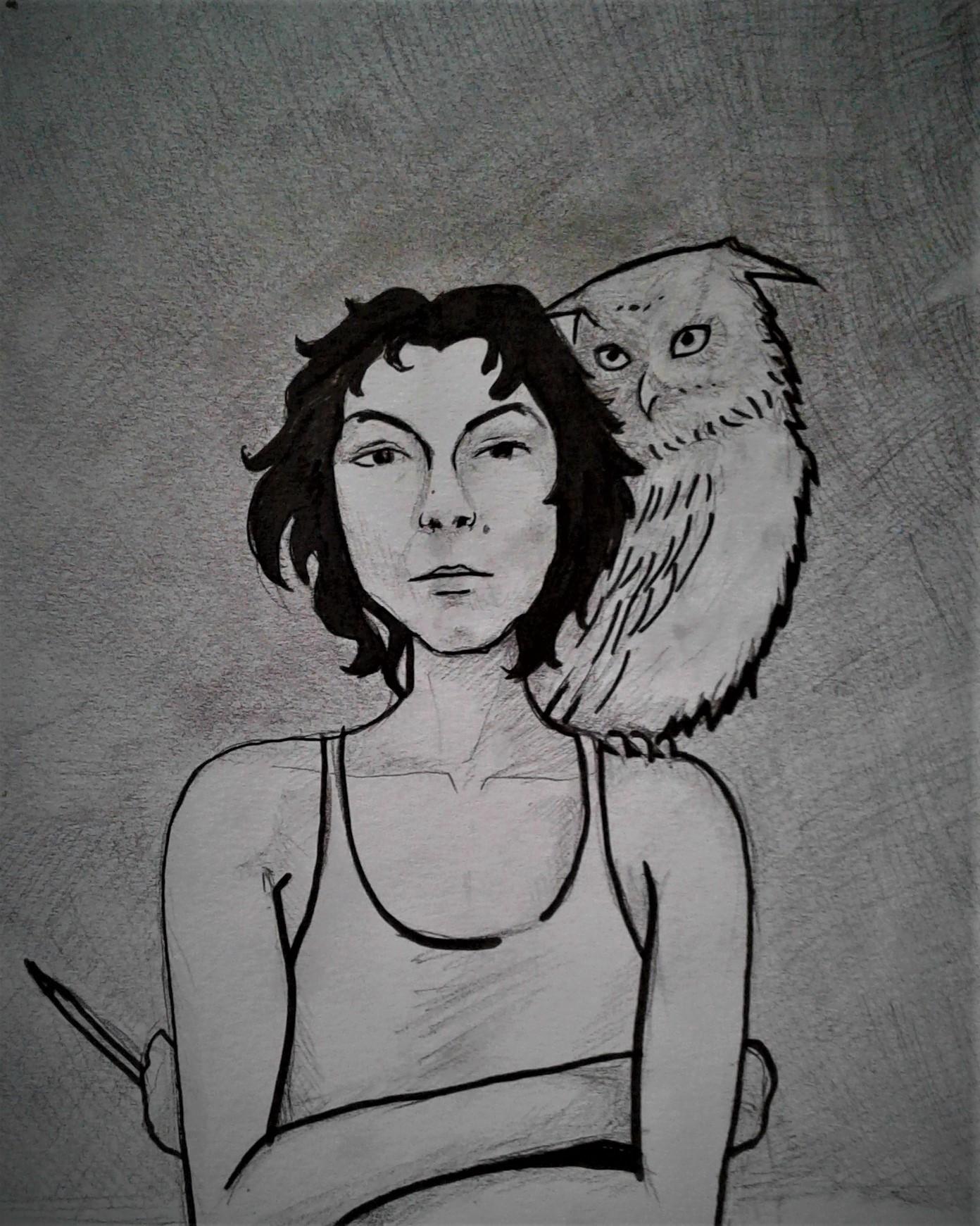 Sarah Bouzaglou Boissin - autoportrait