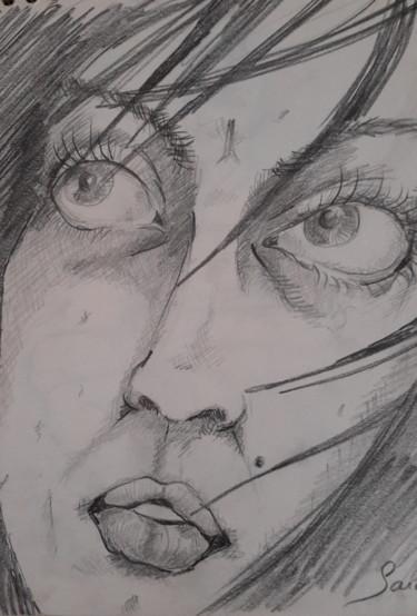 esquisse visage